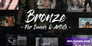 Download free Bronze v1.0.0 – A Professional Music WordPress Theme