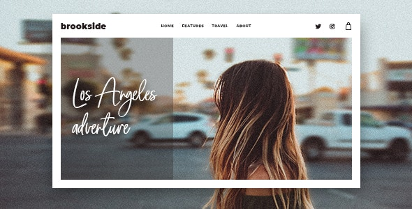 Download free Brookside v1.2.5 – Personal WordPress Blog Theme