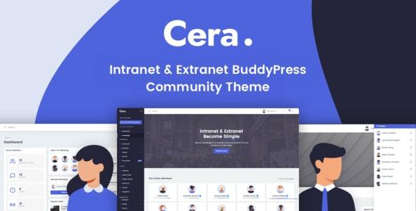 Download free Cera v1.1.2 – Intranet & Community Theme