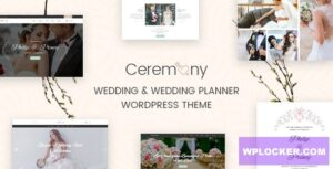 Download free Ceremony v1.4 – Wedding Planner WordPress Theme