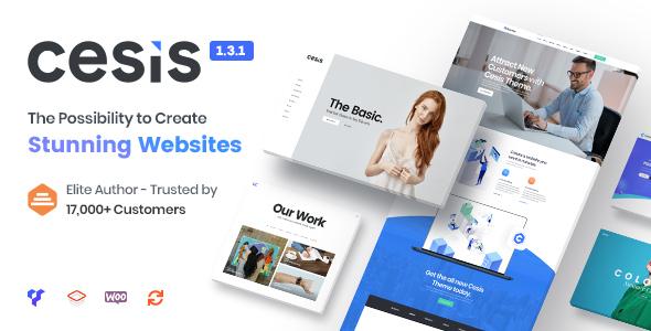 Download free Cesis v1.8.5.3 – Responsive Multi-Purpose WordPress Theme