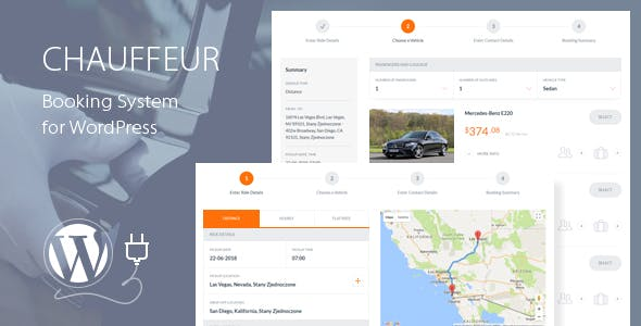 Download free Chauffeur v5.1 – Booking System for WordPress