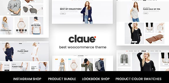 Download free Claue v2.0.4 – Clean, Minimal WooCommerce Themes