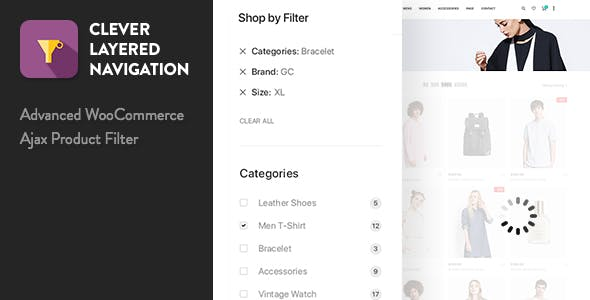 Download free Clever Layered Navigation v1.3.9 – WooCommerce Ajax Product Filter