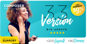 Download free Composer v3.3.6 – Responsive Multi-Purpose High-Performance WP Theme