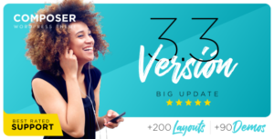 Download free Composer v3.3.7 – Responsive Multi-Purpose Theme