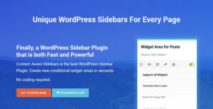 Download free Content Aware Sidebars Pro v3.12.2