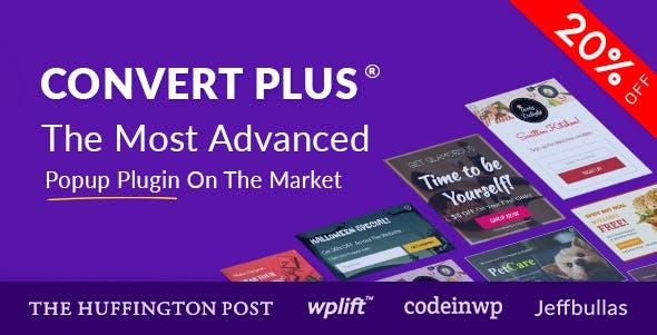 Download free ConvertPlus v3.5.11 – Popup Plugin For WordPress