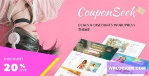 Download free CouponSeek v1.1.4 – Deals & Discounts WordPress Theme