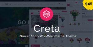 Download free Creta v4.9 – Flower Shop WooCommerce WordPress Theme