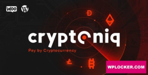 Download free Cryptoniq v1.8 – Cryptocurrency Payment Plugin for WordPress