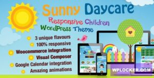 Download free Daycare v3.2 – Kindergarden WordPress Theme
