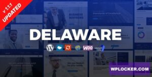 Download free Delaware v1.1.2 – Consulting and Finance WordPress Theme