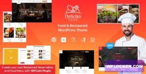 Download free Deliciko v1.9 – Restaurant WordPress Theme
