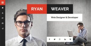 Download free Divergent v3.0 – Personal Vcard Resume WordPress Theme