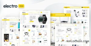 Download free Electro v2.5.8 – Electronics Store WooCommerce Theme