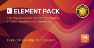 Download free Element Pack v5.2.0 – Addon for Elementor Page Builder