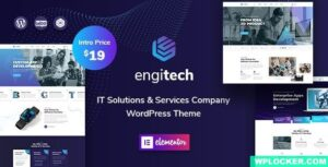 Download free Engitech v1.0.5 – IT Solutions & Services WordPress Theme