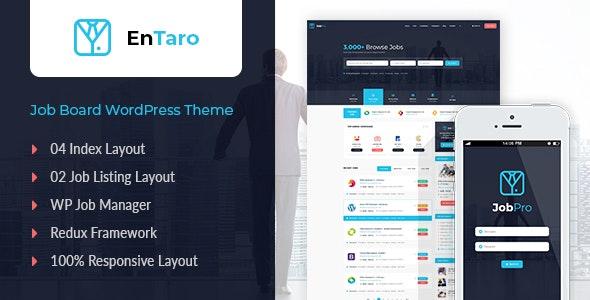 Download free Entaro v3.14 – Job Portal WordPress Theme