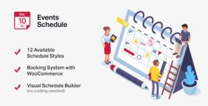 Download free Events Schedule v2.5.17 – Events WordPress Plugin