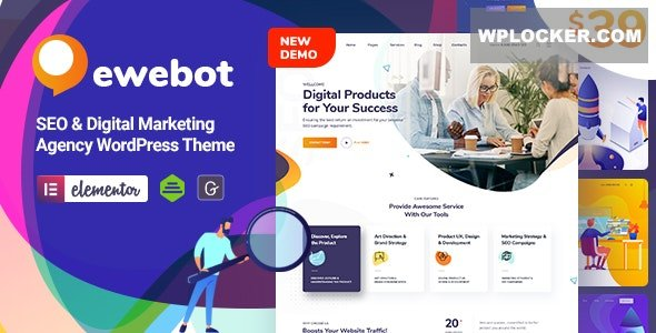 Download free Ewebot v2.1.0 – SEO Digital Marketing Agency