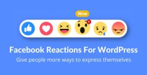 Download free Facebook Reactions For WordPress v2.5