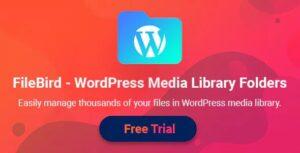 Download free FileBird v4.0.1 – WordPress Media Library Folders
