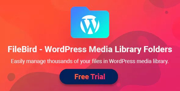 Download free FileBird v4.0.1 – WordPress Media Library Folders