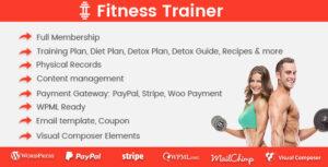 Download free Fitness Trainer v1.4.8 – Training Membership Plugin