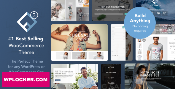 Download free Flatsome v3.12.0 – Multi-Purpose Responsive WooCommerce Theme