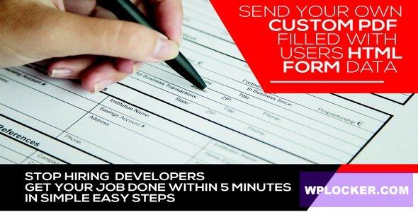 Download free Form Generating PDF v3.6.5