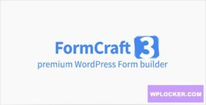 Download free FormCraft v3.8.16 – Premium WordPress Form Builder