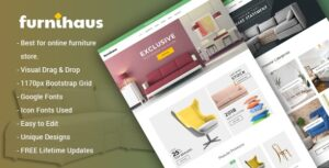 Download free Furnihaus v1.1.1 – Responsive Furniture WooCommerce WordPress Theme