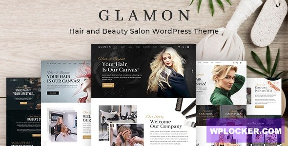 Download free Glamon v1.0.1 – Salon & Barber Shop Theme