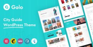 Download free Golo v1.3.2 – City Guide WordPress Theme 1.3.2