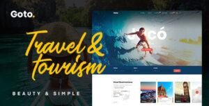 Download free Goto v1.8 – Tour & Travel WordPress Theme