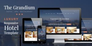 Download free Grandium v1.6.5 – Luxury Hotel Theme
