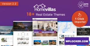 Download free Home Villas v2.2 – Real Estate WordPress Theme
