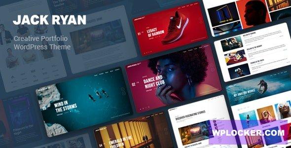 Download free Jack Ryan v1.0.0 – Creative Portfolio WordPress Theme