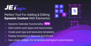 Download free JetEngine v2.4.6 – Adding & Editing Dynamic Content