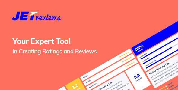 Download free JetReviews v2.0.0 – Reviews Widget for Elementor