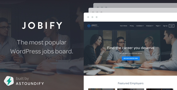 Download free Jobify v3.15.0 – WordPress Job Board Theme