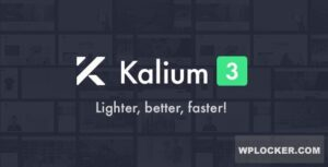 Download free Kalium v3.0.5 – Creative Theme for Professionals