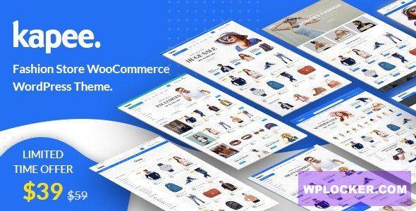 Download free Kapee v1.2.4 – Fashion Store WooCommerce Theme