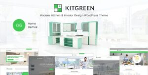 Download free KitGreen v1.5.4 – Modern Kitchen & Interior Design