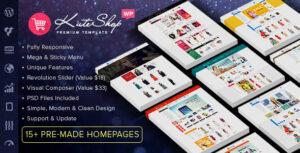 Download free KuteShop v3.6.9 – Multipurpose WooCommerce Wordpres Theme