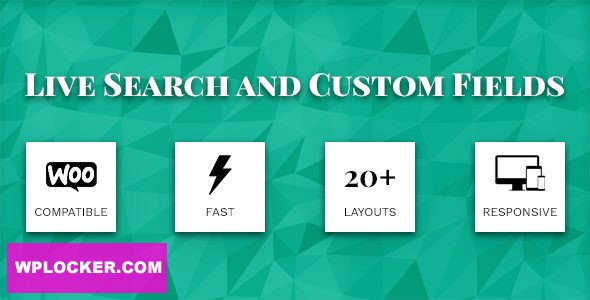 Download free Live Search and Custom Fields v2.6.9