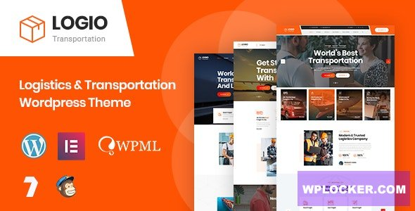 Download free Logio v1.0 – Logistics & Transportation WordPress Theme