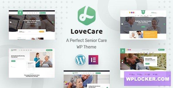Download free Lovecare v1.0 – Senior Care WordPress Theme