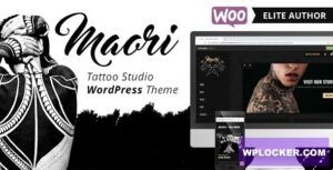 Download free Maori v1.3 – Tattoo Studio WordPress Theme